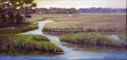 """SPRING MARSH"" (large view)"