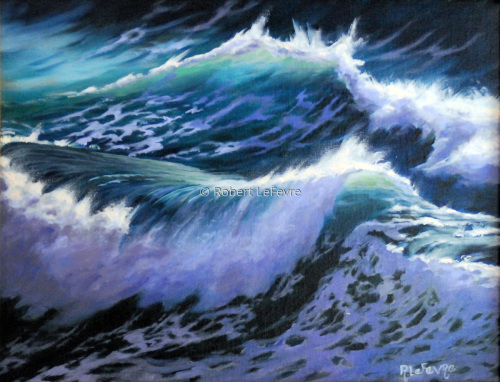 """WAVE DANCE II"" by Robert LeFevre"