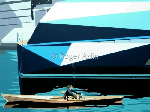 Thames  Journey by Roger Aslin