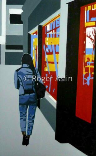 City Walker 2 by Roger Aslin