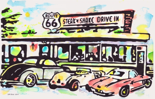 Mr. Marquardt's Route 66 Steak-n-Shake