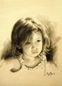 Monochrome of a girl named Agnes (thumbnail)