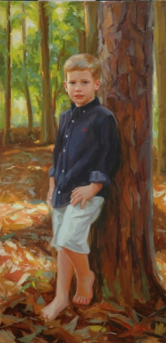 Outdoor Boy Portrait