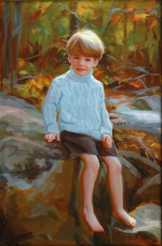 Painting--Oil-Portrait