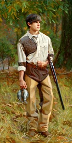 Painting--Oil-Portrait