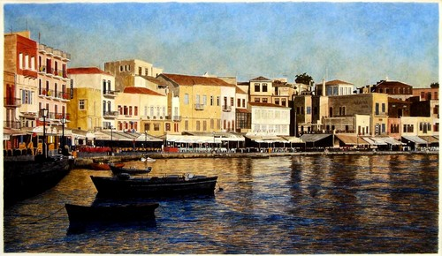 Chania Harbor (large view)