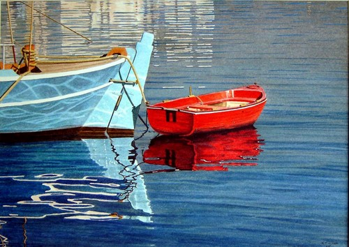 Red Boat by RJ Clark
