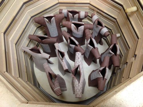 Inside view of kiln