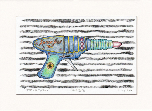 Space jet Raygun