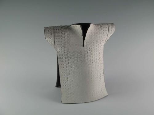 Kimono: White Pattern Chasuble #2