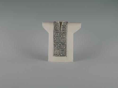 Mini Kimono: Greek Pattern