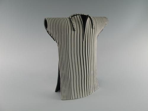 Narrow Collar Kimono