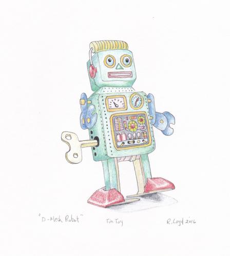 D Mesh Robot