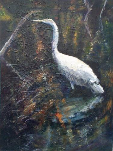 Standing Bird