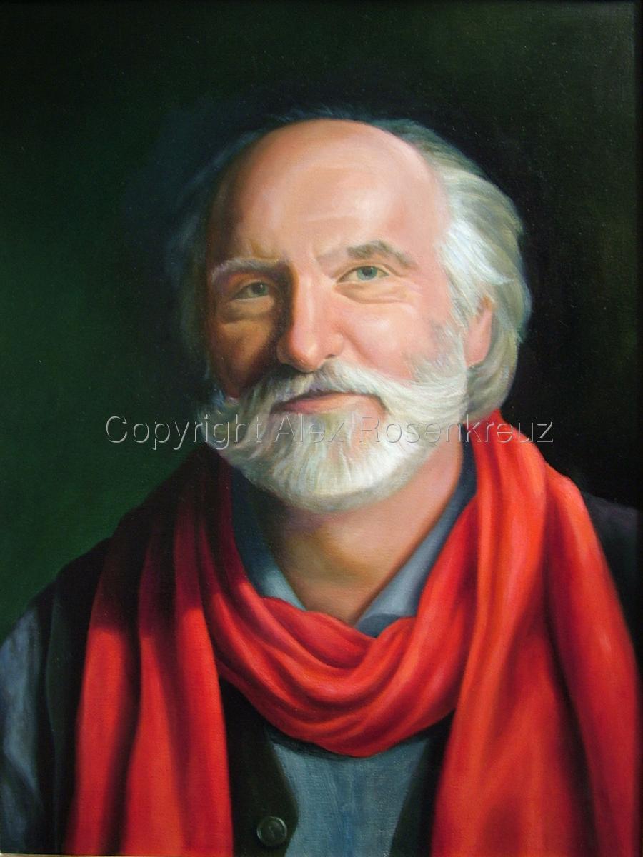Portrait of my Friend John (large view)