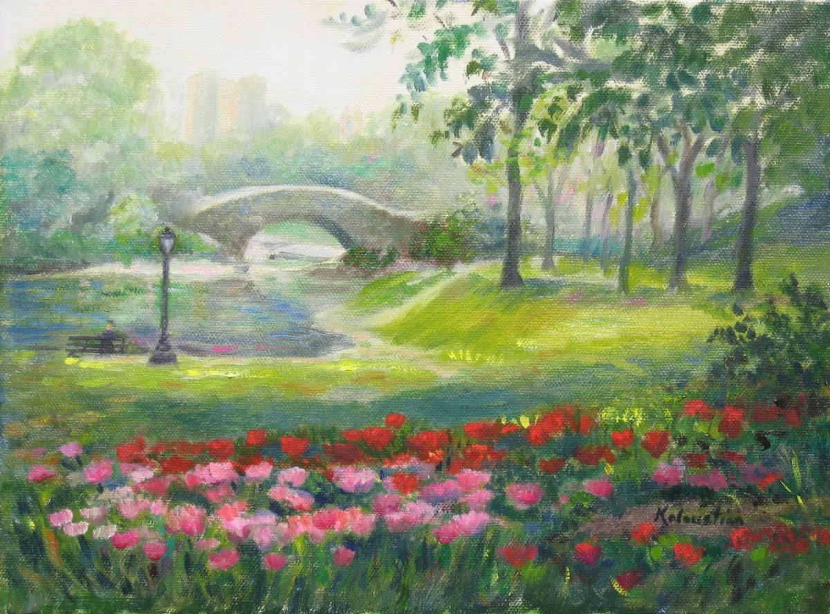 Spring in Central Park  (large view)