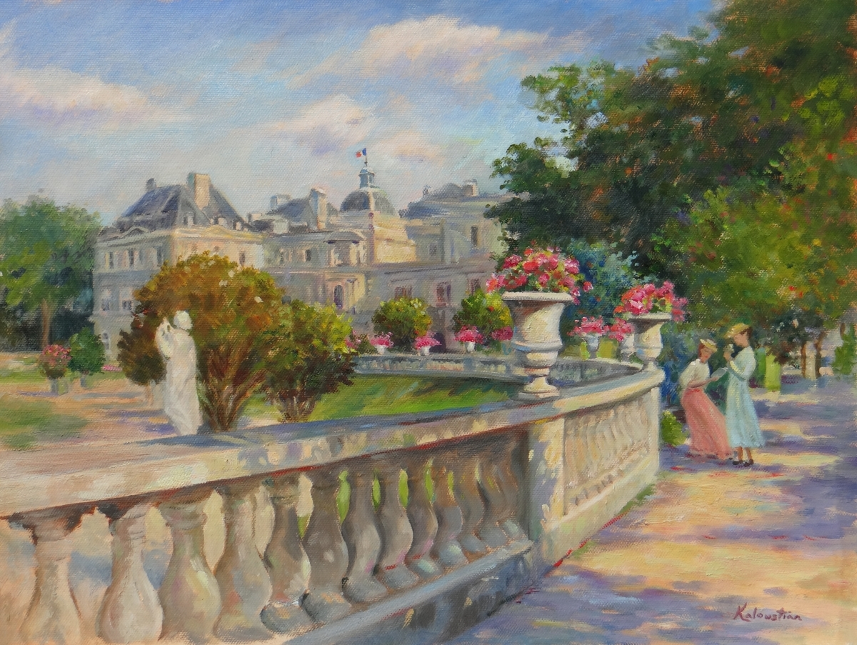 Ladies of Luxembourg Gardens (large view)
