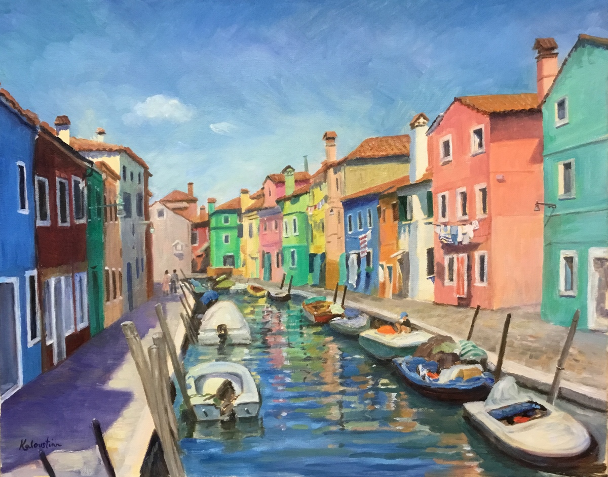 Colors of Burano (large view)