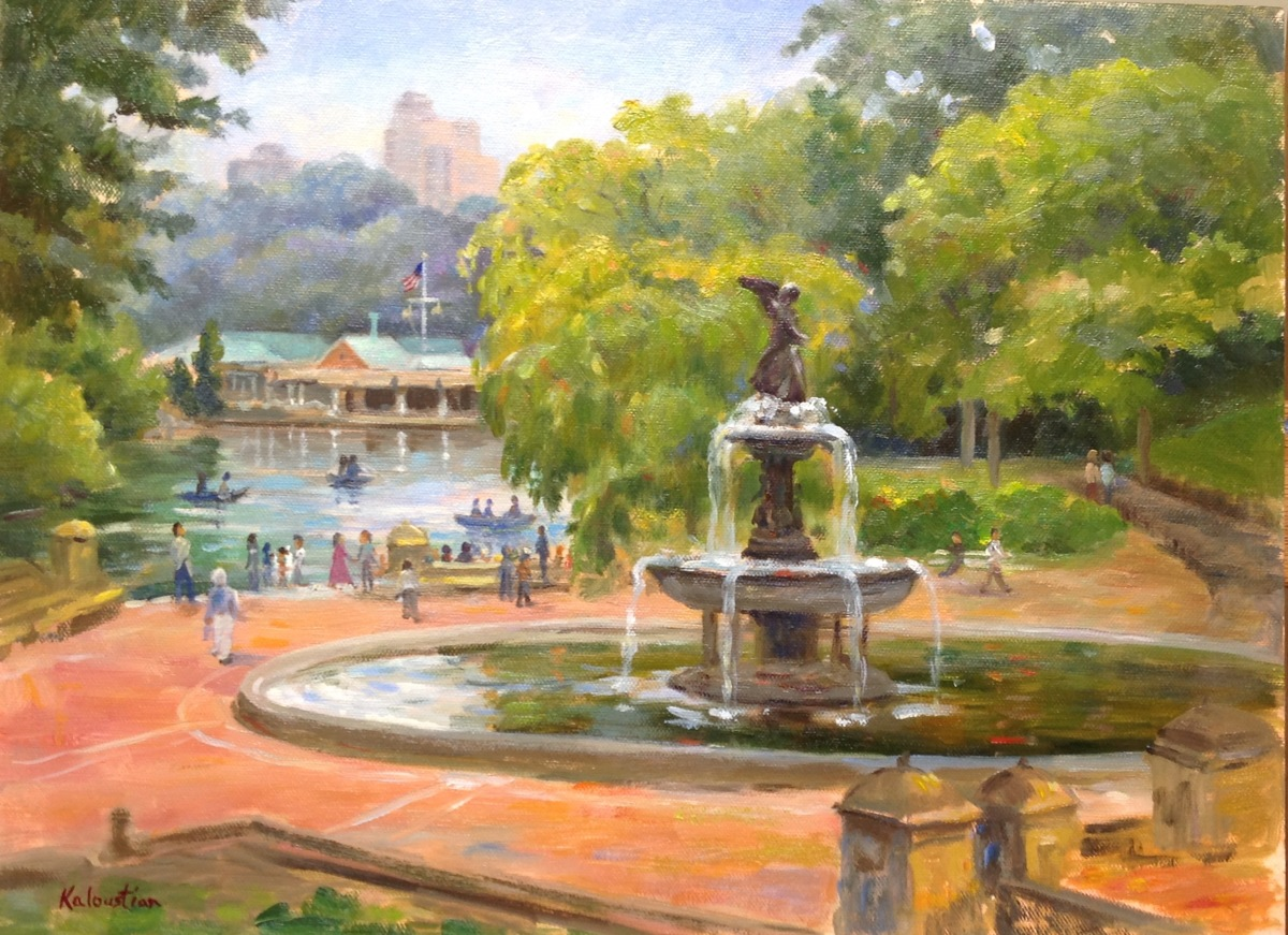 Bethesda Fountain Central Park (large view)