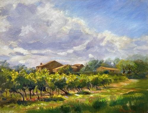Vineyard by Rosanne Kaloustian