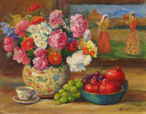 Armenian Still Life by Rosanne Kaloustian