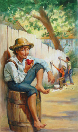 a coming of age story in the adventures of huckleberry finn by mark twain Mark twain's classic novel, the adventures of huckleberry finn, tells the story of a teenaged misfit who finds himself floating on a raft down the mississippi river.
