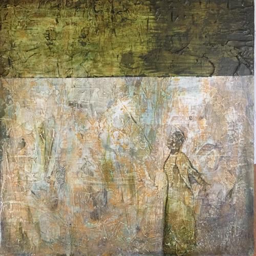 Lady in the Glen by Rina Patel Art
