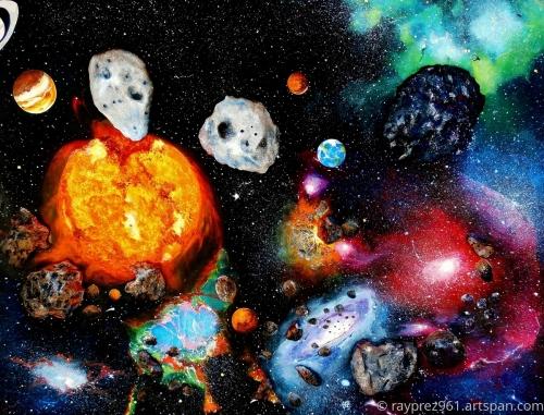 Solar System by Raymond Perez Art