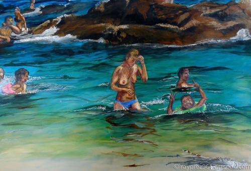 Lloret De Mar, Spain by Raymond Perez Art
