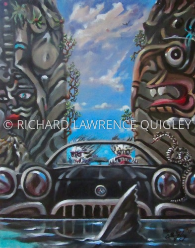 """A SWEET RIDE"" by RICHARD LAWRENCE QUIGLEY"