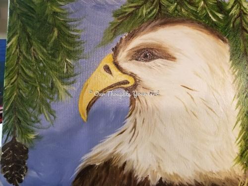 Eagle winter