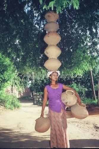 myanmar village