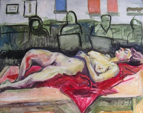 Reclining Nude 6/6/11