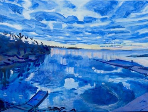 blue front bay