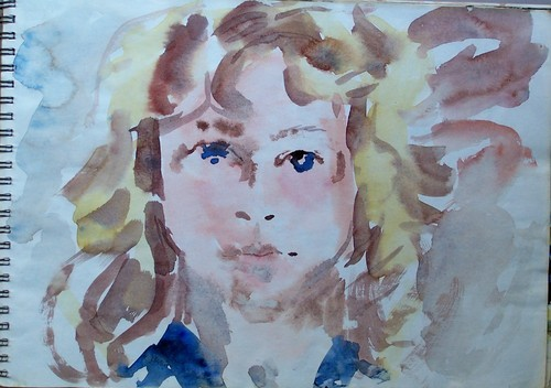 watercolor christianne
