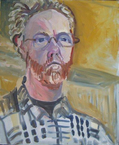 oil self portrait jan '07