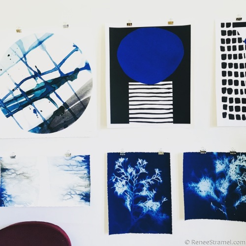 Prints in a Gallery Wall