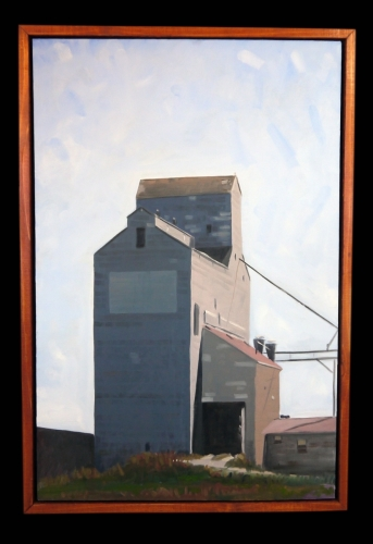 Grain Elevator Series #1 by Reid Thorpe Fine Art and Illustration