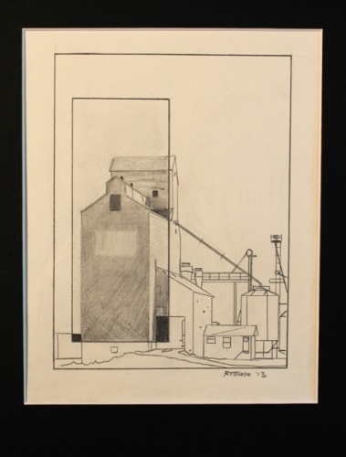 Grain Elevator View