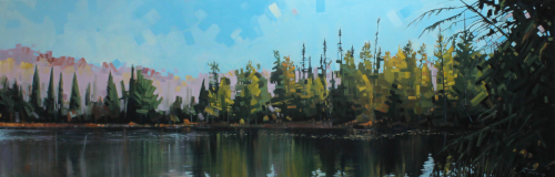 Floating Tamaracks Large