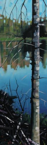 Chain Lake Reflection Small