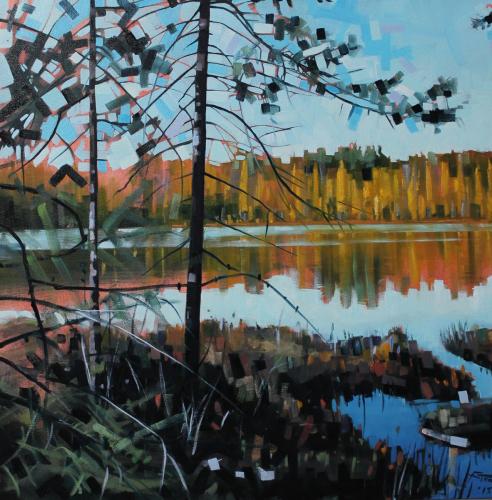 Tamarack Bog View