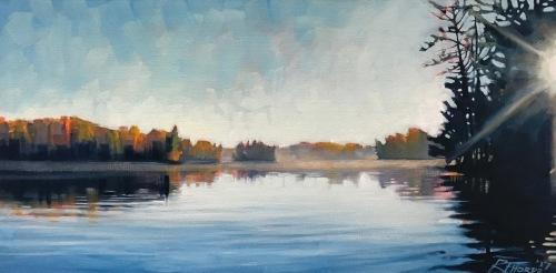 Seven Island Lake Sunrise