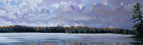 Seven Island Lake Clouds