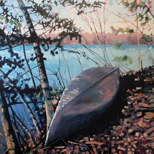 Spring Canoe