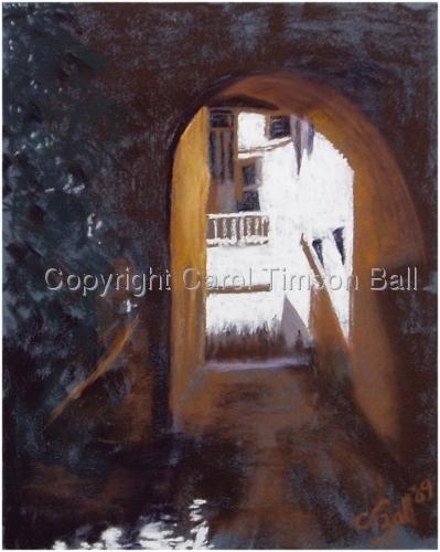 Lighted Passage