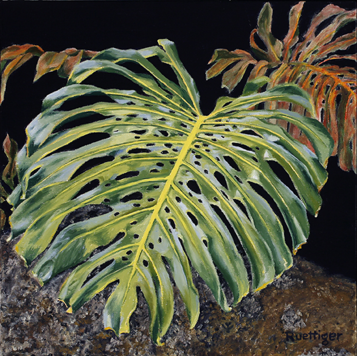 tropical leaf (large view)