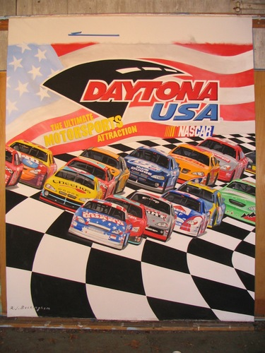 Mural for Daytona 500