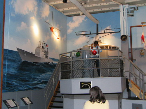 exhibit aboard USS Intrepid