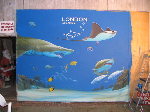 London Aquarium Mural
